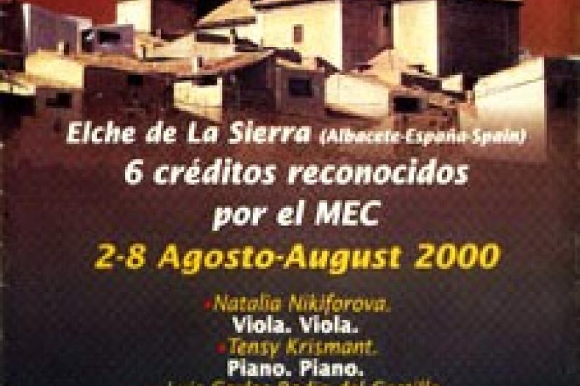 "International Course of Music ""Yehudi Menuhin"""