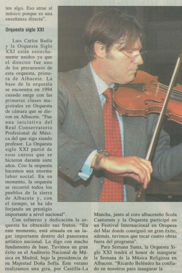 Director, violinist y compositor (España)