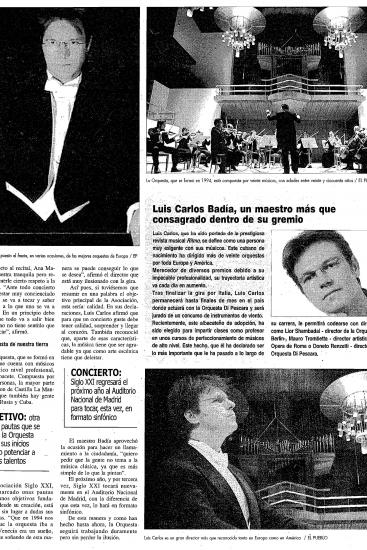 "Luis Carlos Badía: Consolidated ""Maestro"" in his guild. (Spain)"