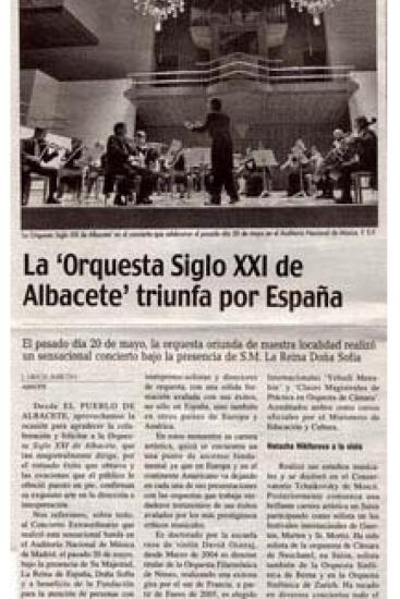 21th Century Orchestra triumphs across Spain (Spain)