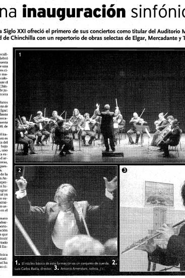 Symphonic opening (Spain)