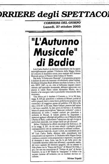 El otoño musical (Italia)