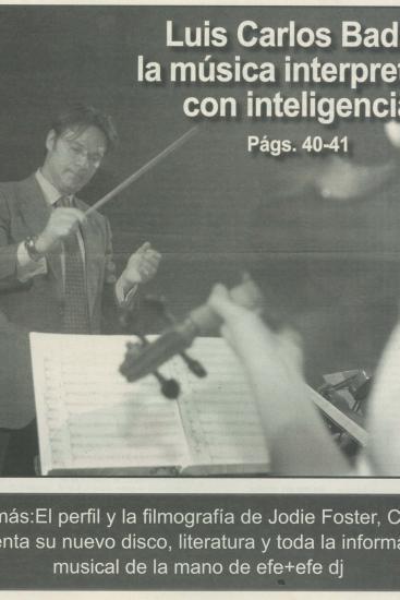 La música interpretada con inteligencia(España)