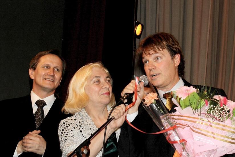 2007 Premio a la Alta Maestría Artística (Bielorrusia)
