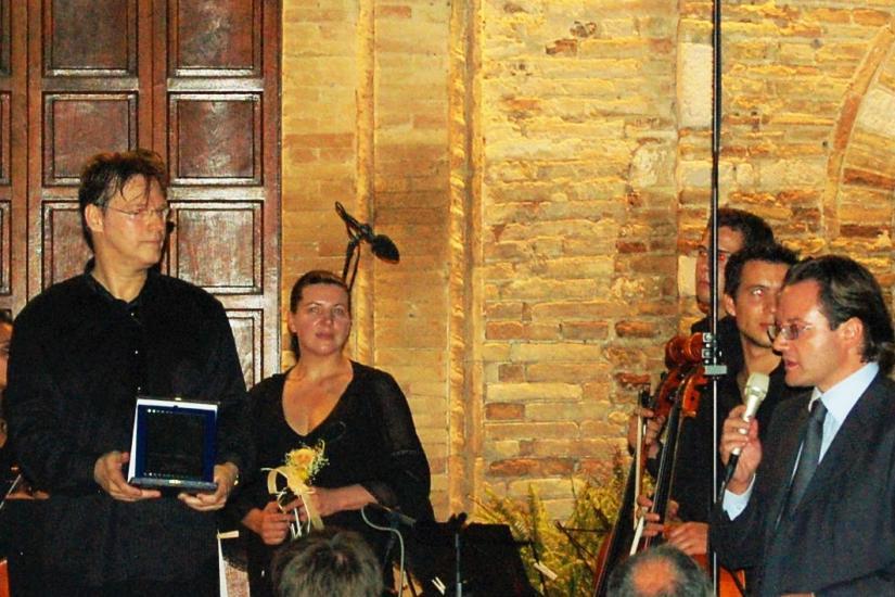 2008 Reconocimiento en Italia