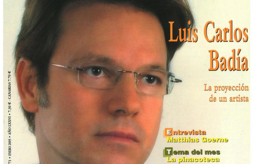 Magazine Cover – The projection of an artist. (Spain)