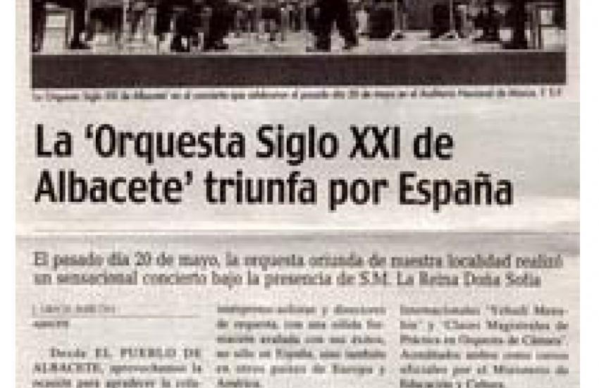 21th Century Orchestra triumphs across Spain (Spain)