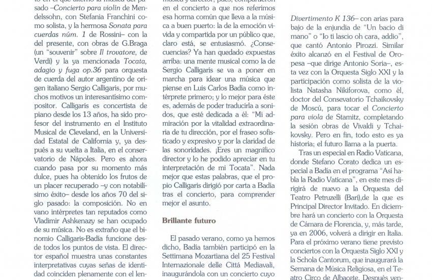 El binomio perfecto -  Calligaris y Badía (Spain)