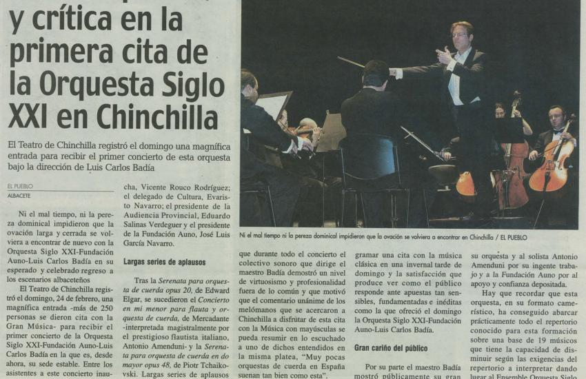 Audience appraisal and success amongst the critics. (Spain)