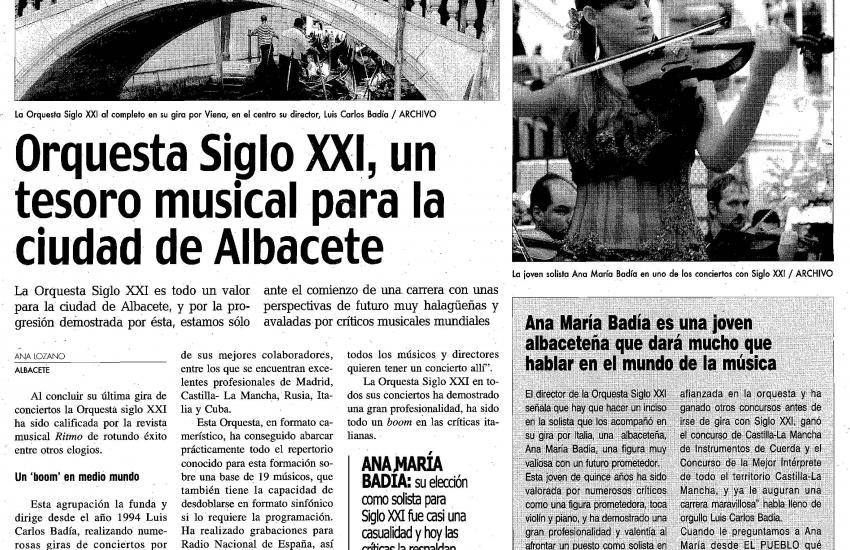 21th Century Orchestra: A musical treasure for this city (Spain)