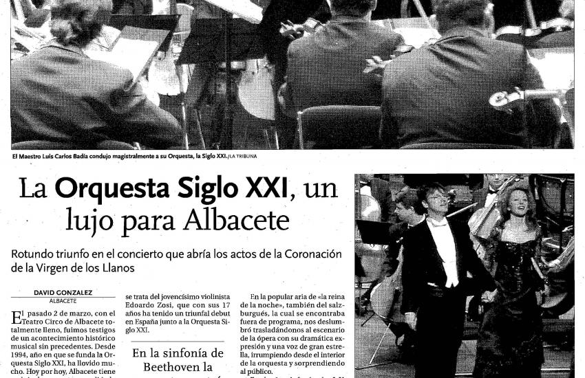 A top level Orchestra (Spain)